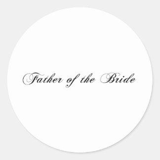 Padre de la novia etiqueta