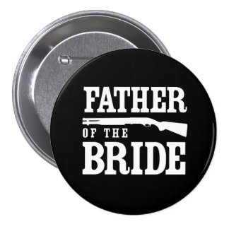 Padre de la novia pin redondo 7 cm