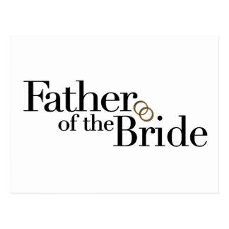 Padre de la novia postal