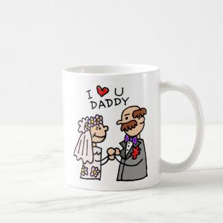 Padre de la novia taza