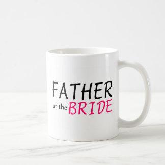 Padre de la novia tazas de café