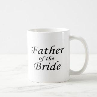 Padre de la novia taza clásica