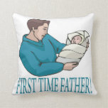 Padre de la primera vez almohada