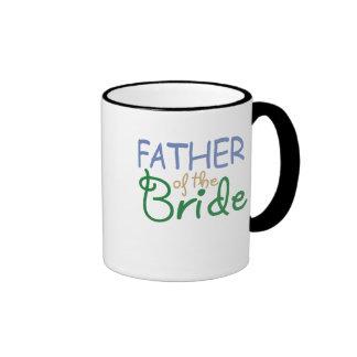 Padre de la taza de la novia