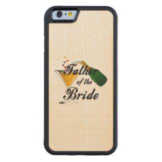 Padre de la tostada de Champán de la novia Funda De iPhone 6 Bumper Arce