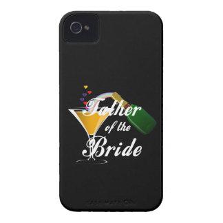 Padre de la tostada de Champán de la novia iPhone 4 Protector