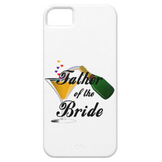 Padre de la tostada de Champán de la novia iPhone 5 Carcasa