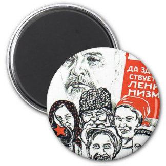 padre de Lenin del comunismo Imán Redondo 5 Cm