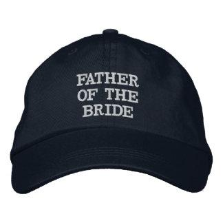 Padre de los azules marinos del gorra ajustable de gorras de béisbol bordadas
