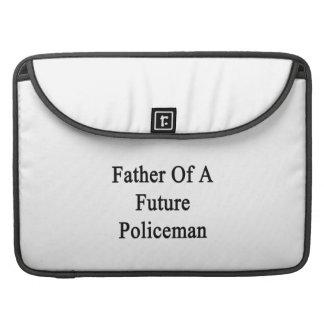 Padre de un policía futuro fundas macbook pro