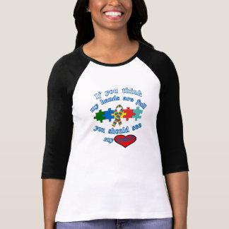 Padre del autismo tee shirt