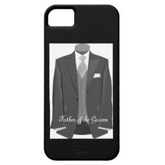 Padre del boda del caso del iPhone 5/5S del novio iPhone 5 Case-Mate Cobertura