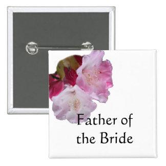 padre del botón del boda de la novia o del novio