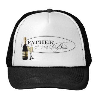 Padre del casquillo de la novia gorra