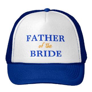 Padre del casquillo de la novia gorras