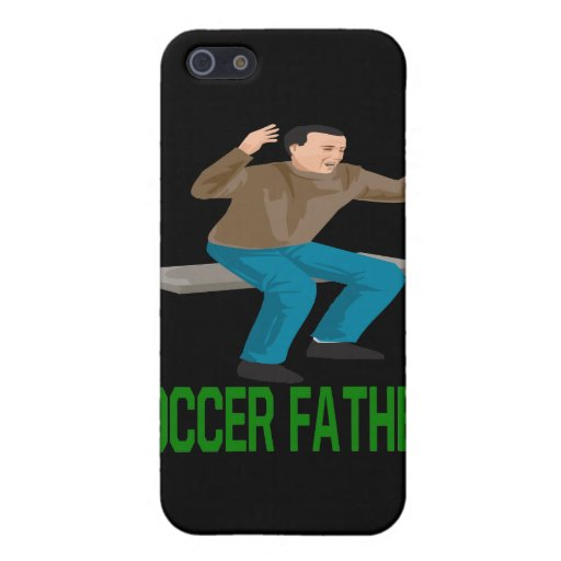 Padre del fútbol iPhone 5 carcasa