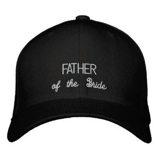 PADRE del gorra de la novia Gorra Bordada
