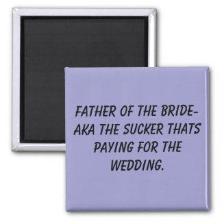 Padre del imán de la novia