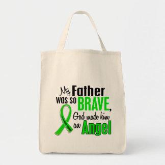 Padre del linfoma Non-Hodgkin del ángel 1 Bolsas De Mano