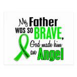 Padre del linfoma Non-Hodgkin del ángel 1 Tarjeta Postal