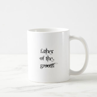 Padre del novio taza clásica