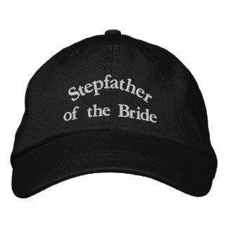 Padre del paso de la novia gorras bordadas