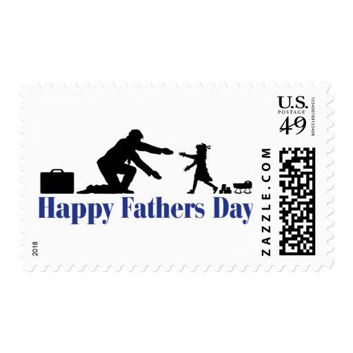Padre e hija sello