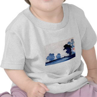 Padre e hijo japoneses no.1 camisetas