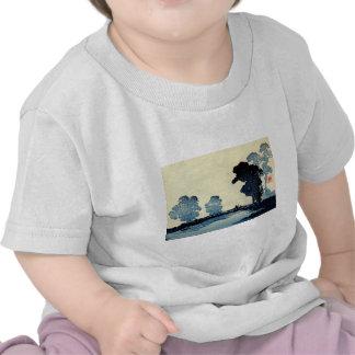 Padre e hijo japoneses no.2 camiseta