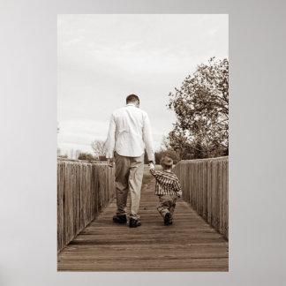 Padre e hijo póster