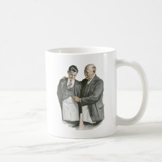 Padre e hijo taza de café