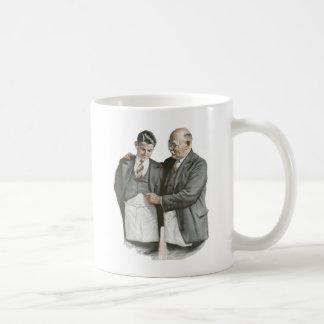 Padre e hijo taza clásica