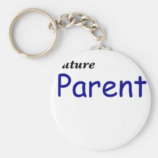 Padre futuro llaveros personalizados