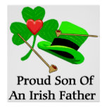Padre irlandés impresiones