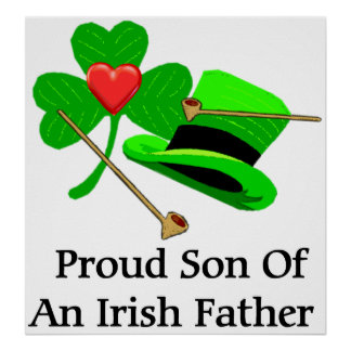 Padre irlandés póster