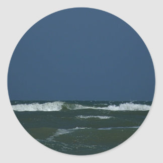 Padre Island National Seashore Round Stickers