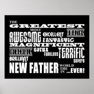 Padre más grande moderno y de la diversión elegant impresiones