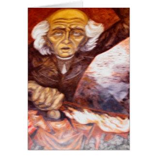 """""""Padre Miguel Hidalgo"""" Jose Clemente Orozco Card"""
