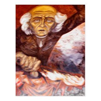 """""""Padre Miguel Hidalgo"""" Jose Clemente Orozco Postcard"""