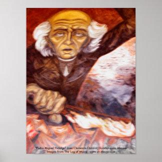 """Padre Miguel Hidalgo"" Jose Clemente Orozco Poster"