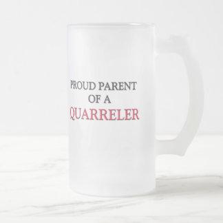 Padre orgulloso de A QUARRELER Tazas De Café