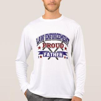 Padre orgulloso de la aplicación de ley camisetas