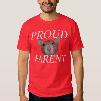 padre orgulloso de la rata playeras