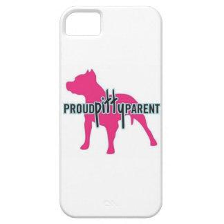 Padre orgulloso de Pitty iPhone 5 Carcasa