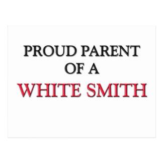 Padre orgulloso de SMITH BLANCO Postales