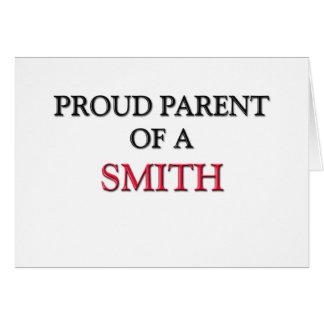 Padre orgulloso de SMITH Felicitacion