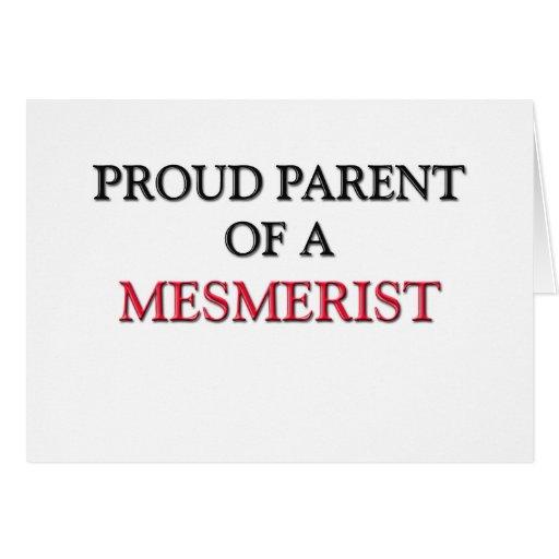 Padre orgulloso de un MESMERIST Tarjeta