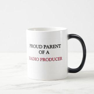 Padre orgulloso de un PRODUCTOR DE RADIO Taza Mágica