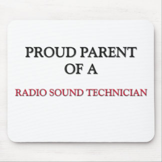 Padre orgulloso de un TÉCNICO SANO DE RADIO Alfombrillas De Raton