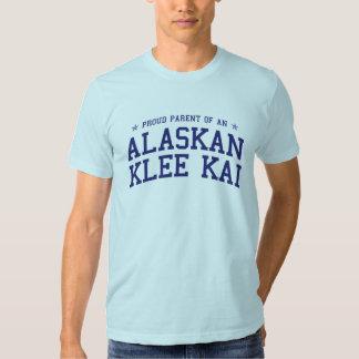 Padre orgulloso de una camiseta de Alaska de Klee Playeras